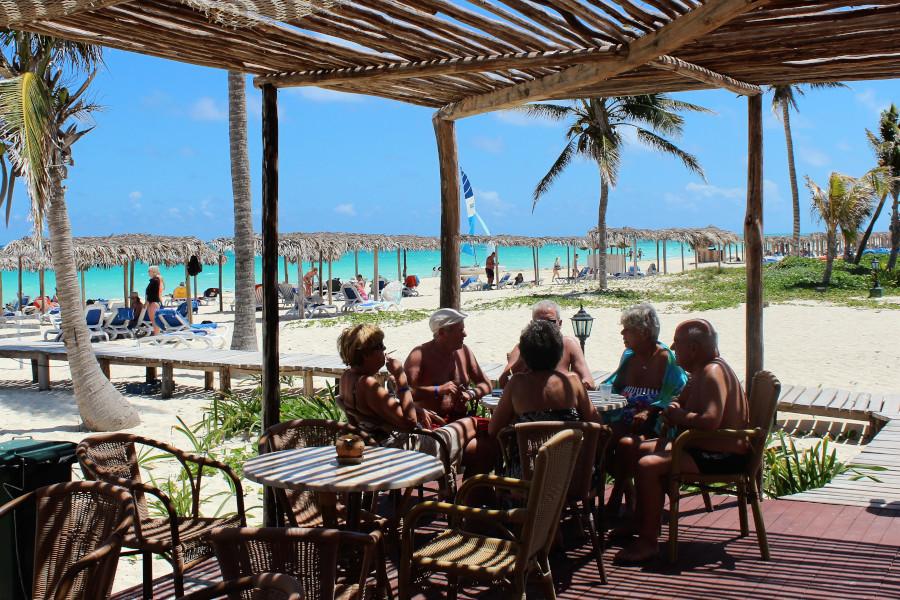 Praia lazer